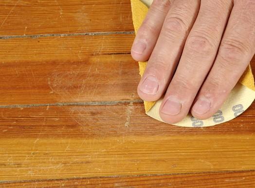Царапины на полах: - убрать и предотвратить