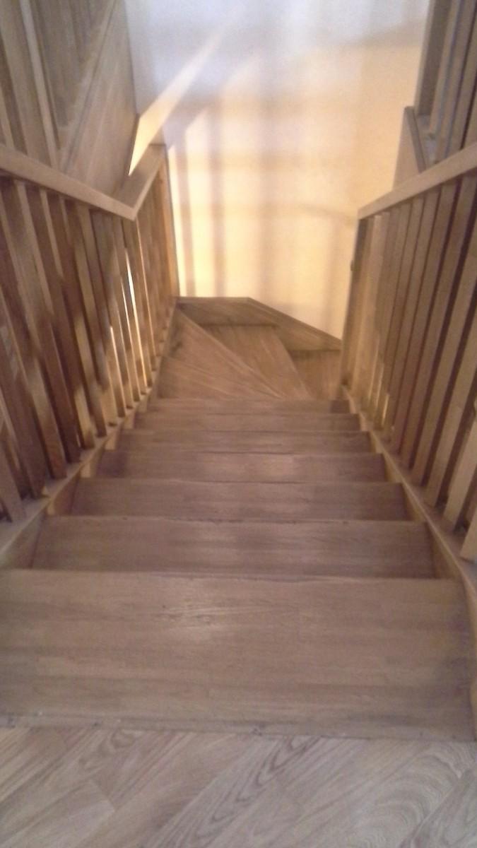 Реставрация деревянных лестниц