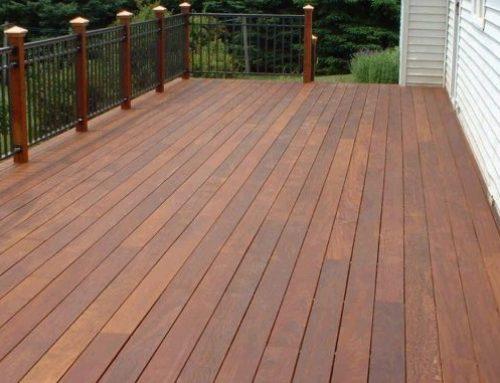 Деревянное покрытие для террасы: особенности и советы по уходу