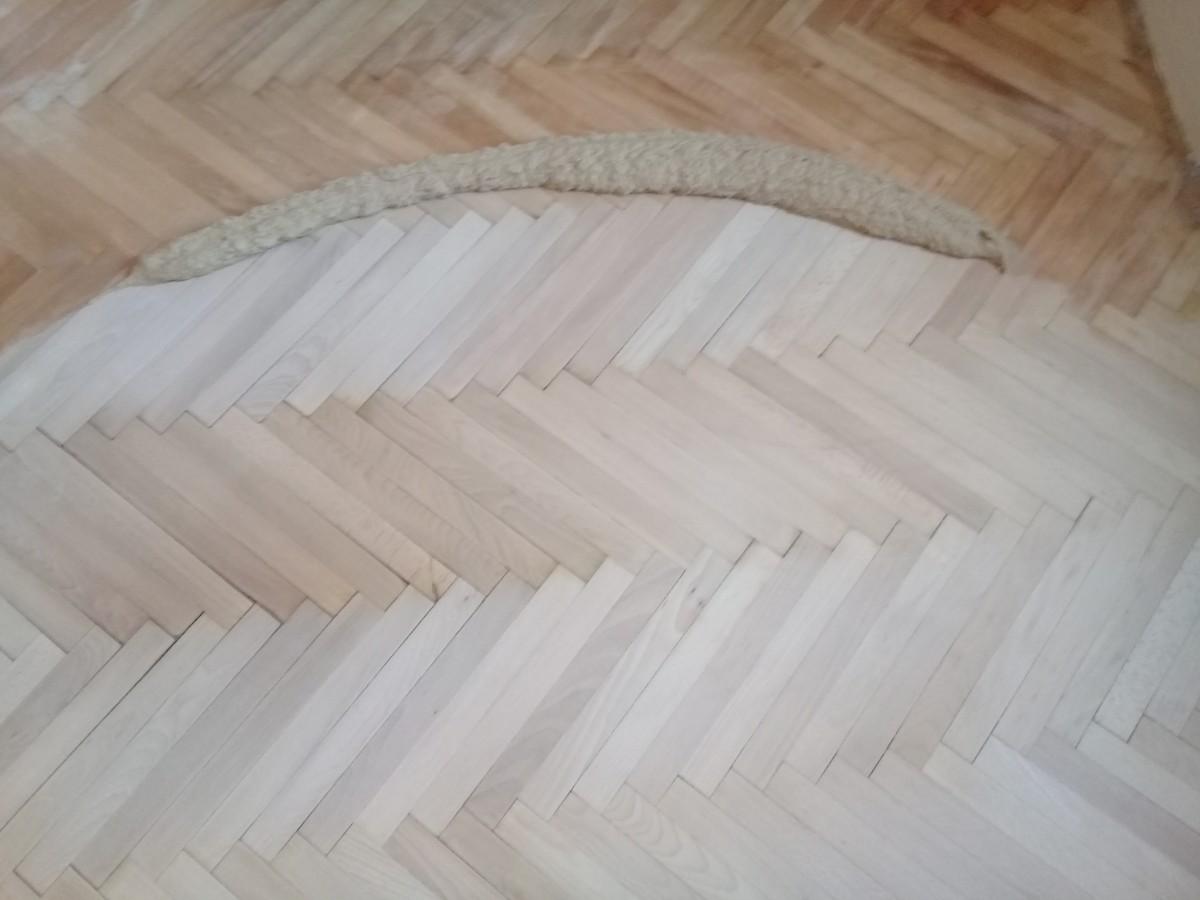 Фото работ по циклевке напольного покрытие